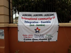 Launching ICoI-Gambia